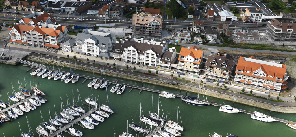Van Tornhaut - Storms Harbour : Project Waterfront - Bouwen van 6 residenties (Nantucket, Southampton, Key Largo, Newport Bay, Bermuda en Sea Side) te Nieuwpoort